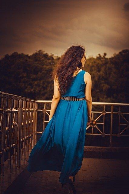 dres wanita Long dress