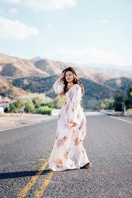 Dres Wanita Maxi dress
